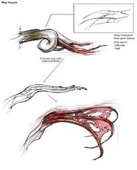Wisp tentacle