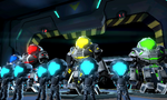 Federation Force with Mechs
