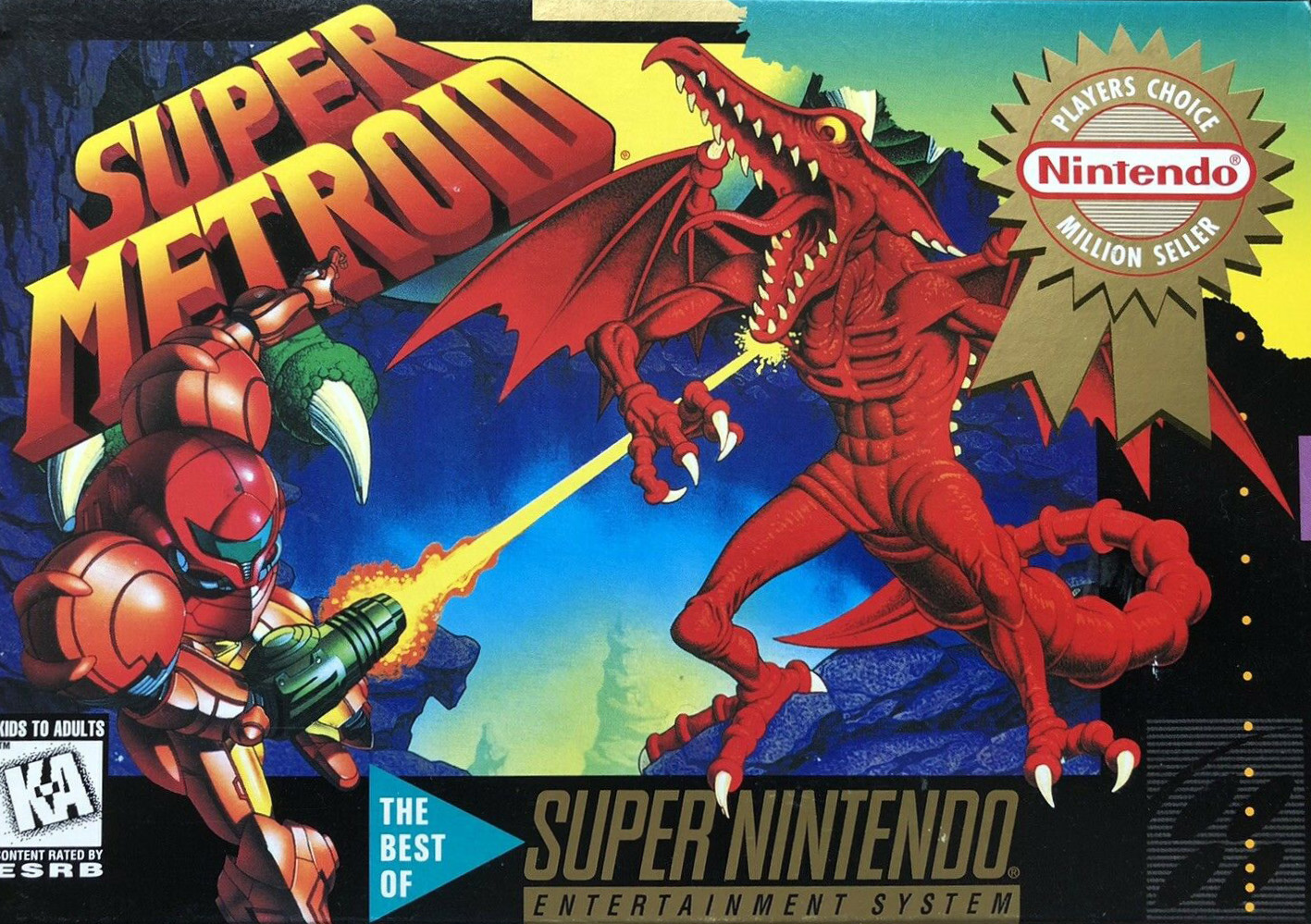 File:Super Metroid NA Player's Choice boxart.jpg