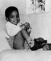Michael Jackson as an Infant