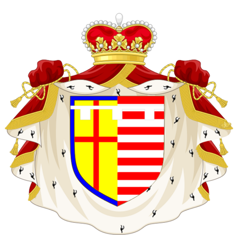 File:Robert, Prince of the Unironic Empire Coat of Arms PNG.png