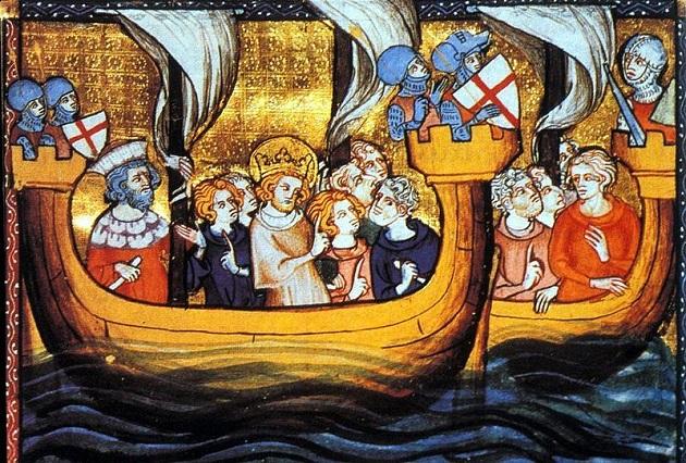 File:Visite-Croisade de St Louis partant d'Aigues-mortes.jpg