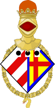 Delaney, Princess Imperial as a Knight of the Golden Dragon COA (png)