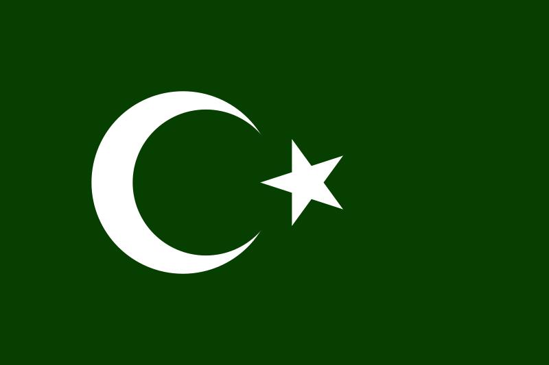 Generic Muslim flag by PrincessElemix on DeviantArt