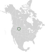 Location of Grémmia in North America