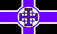 Flag of the Sovereign Order of the Violet Inquisitors