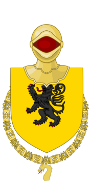 Jeffrey I of Harenfall as a Knight of the Golden Dragon COA (png) 1