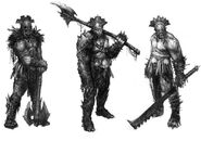 The lord of the rings war in the north conceptart DAdAU
