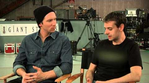 Shadow of Mordor Behind the Scenes Troy Baker and Christian Cantamessa
