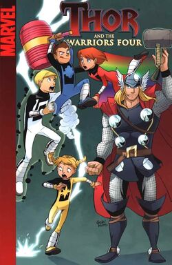 Thor and the Warriors Four Digest Vol 1 1