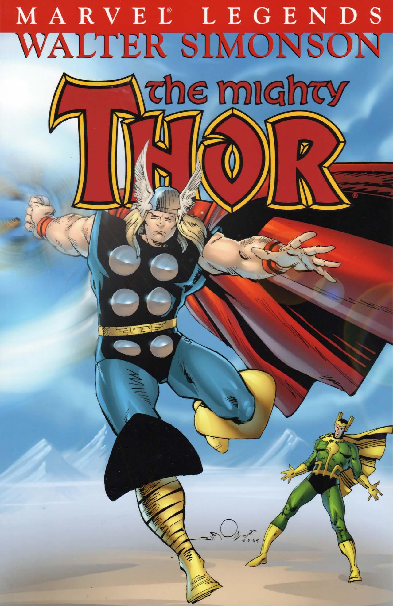 Thor Visionaries Walter Simonson Vol 1 3