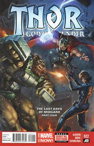 Thor God of Thunder Vol 1 22