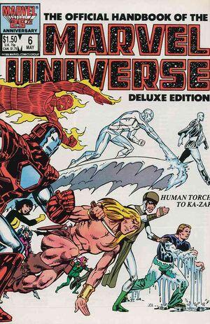 Official Handbook of the Marvel Universe Vol 2 6