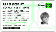 ID card 1 - Dan Morgan