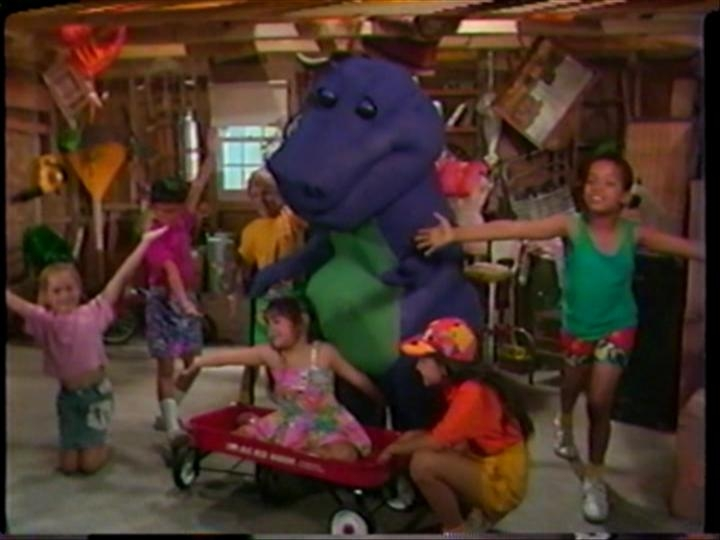 Barney And The Backyard Gang Barney In Concert Part Barney - Barney concert part 1