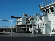 HMCS Nanaimo Bofors