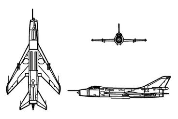 SUKHOI Su-7B FITTER A