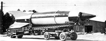 V-2 rocket on meillerwagen-1-