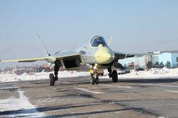 Sukhoi Su-50PAKFA