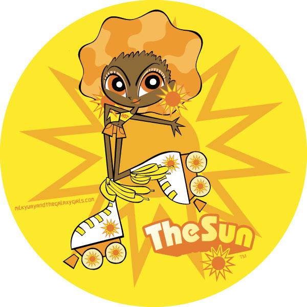The Sun   Milky Way and the Galaxy Girls Wiki   FANDOM ...
