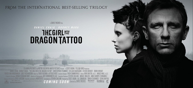 Full resolution  The Girl With The Dragon Tattoo Poster