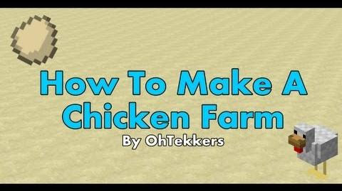 Minecraft Chicken Egg Farm - Redstone Tutorials 1.5.1
