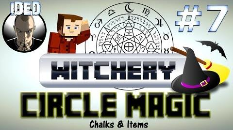 Witchery Tutorial - Circle Magic Chalks and Items - Minecraft Mod