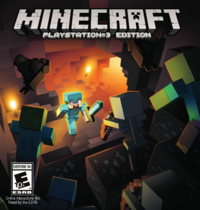 200px-Minecraft PS3 Edition Uw Retall Cover Art