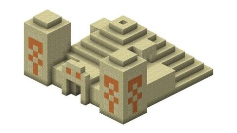 Minecraft Generated Structures - Pyramid