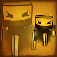 Minecraft mob spotlight blaze by corefire1528-d60rx8n