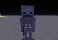 A Skeleton In a desert area