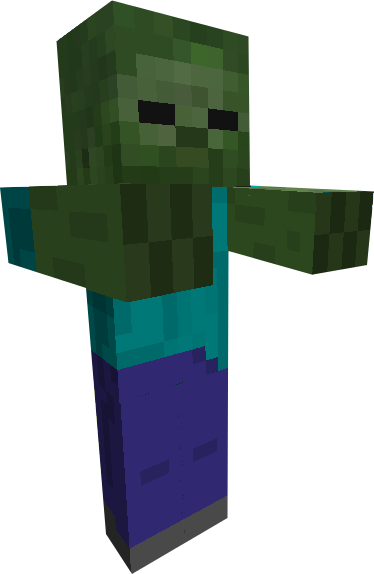Image minecraft giant zombie by scott910 - Zombie style minecraft ...
