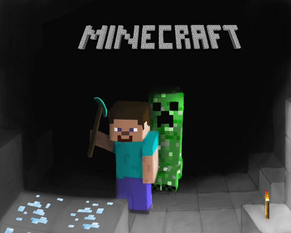 File:Minecraft by xephio-d30a07x.jpg