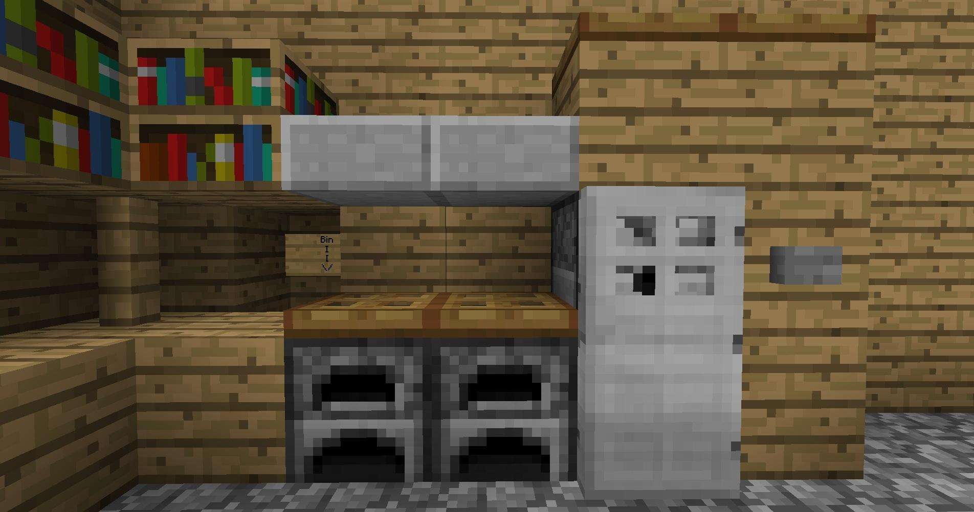 how to make a kitchen in minecraft. Watchthetrailerfo How To Make A Kitchen Table In Minecraft Trendyexaminer