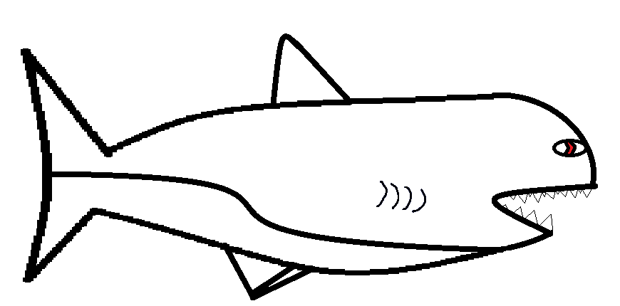 Shark Stencil Printable - ClipArt Best