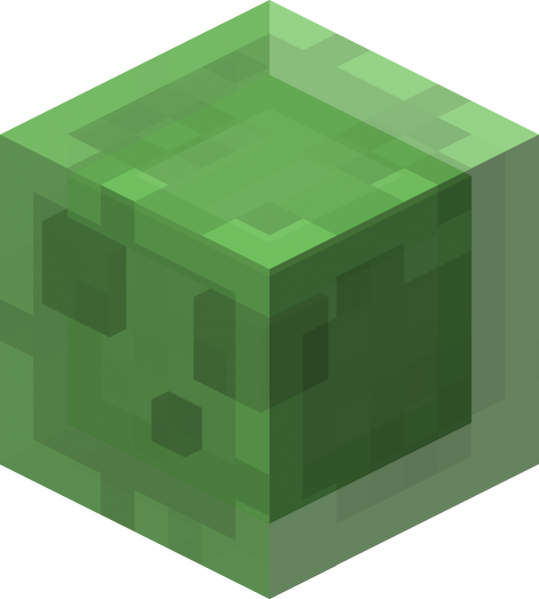 Minecraft slime face