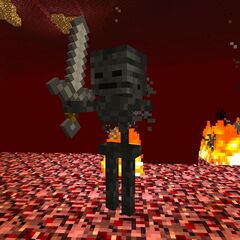 A Wither Skeleton