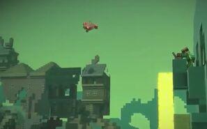 Flying Reuben!