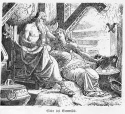 Odin bei Gunlöd walhallgermanisc1888dahn p057.jpg
