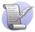 Icon writing P cc-by-sa-3.0.png