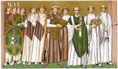 Kaiser Justinianus 565, trachtenkunstwer01hefn Taf.004