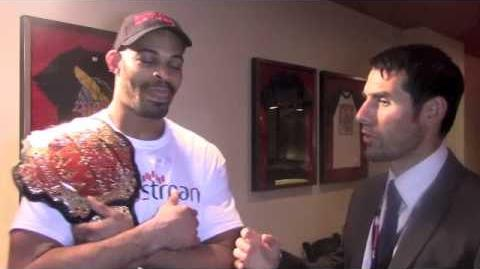 David Branch inspires all with Middleweight championship title