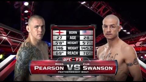 Fight Night San Antonio Free Fight Cub Swanson vs. Ross Pearson