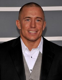 Georges St-Pierre portrait