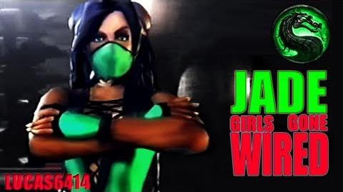 Jade Girls Gone Wired - Best Quality Mortal Kombat Deception