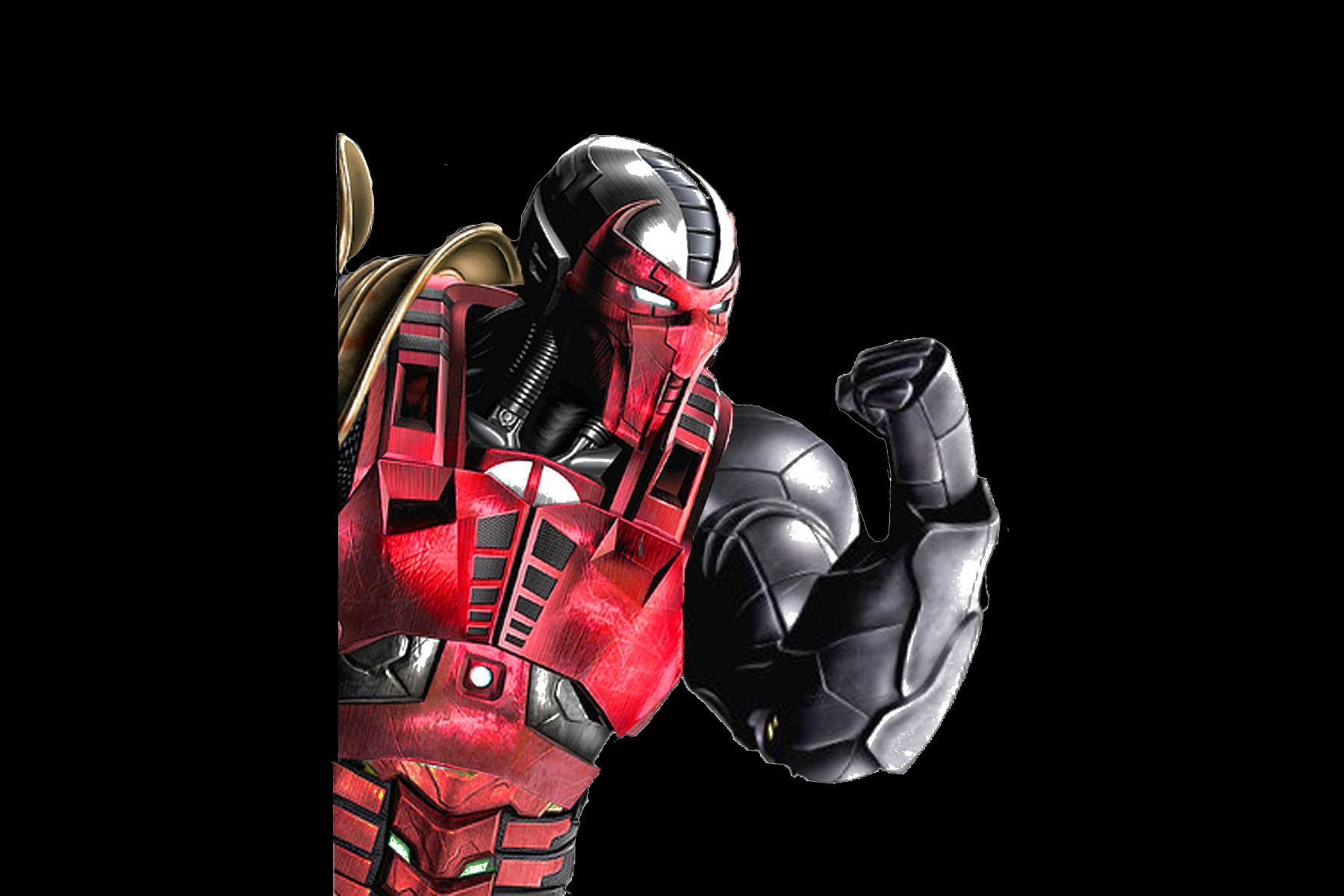 Mortal Kombat 9 Cyber Kratos - voitures-americaines info