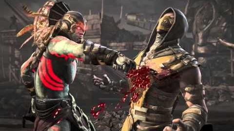 MKX Kotal Kahn Be Mine Fatality