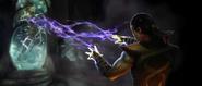 Shang Tsung awakens Mileena