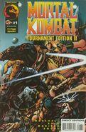 MK Tournament Edition II Cover