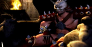 Shao Kahn in Dealdy Alliance Intro